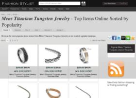 mens-titanium-tungsten-jewelry.fashionstylist.com