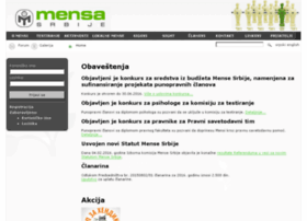 mensa.org.rs