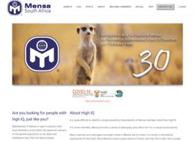 mensa.org.za
