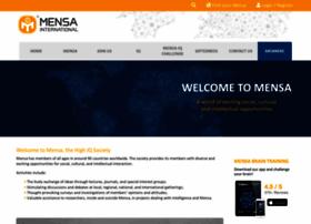 mensa.org