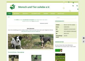 mensch-und-tier-zuliebe.de