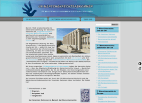 menschenrechtsabkommen.de