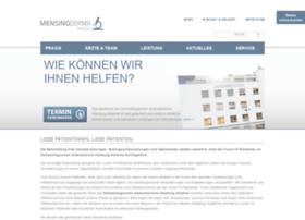 mensing-derma.de