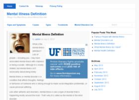 mentalillnessdefinition.com