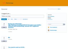mentionmapp.uservoice.com