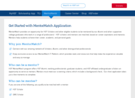 mentormatch-staging.hsf.net