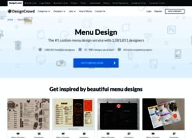 menu.designcrowd.co.in