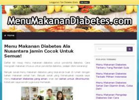 menumakanandiabetes.com