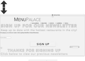 menupalace.com