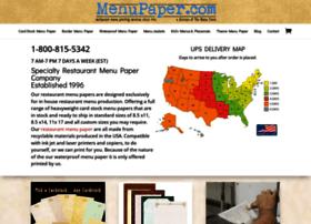 menupaper.com