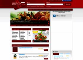 menus.co.nz