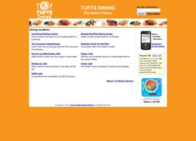 menus.tufts.edu