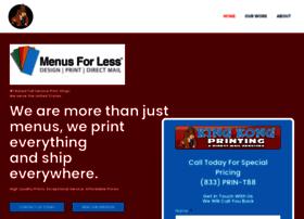 menusforless.com