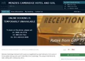 menzies-cambridge-golf.hotel-rv.com