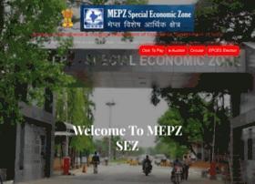 mepz.gov.in