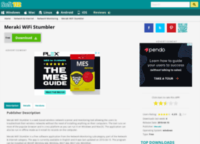 meraki-wifi-stumbler.soft112.com