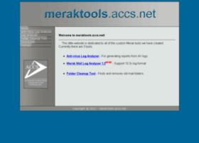 meraktools.accs.net