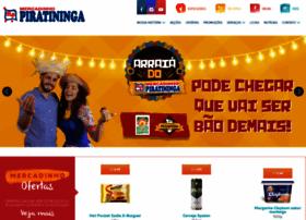 mercadinhopiratininga.com.br