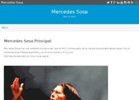 mercedessosa.com.ar