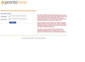 merchant.pronto.com