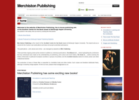 merchistonpublishing.com