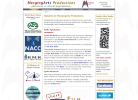 mergingartsproductions.com