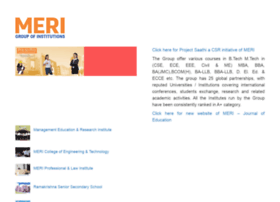 meri.edu.in