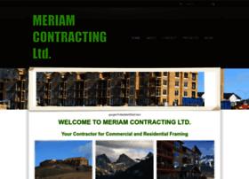 meriamcontracting.com