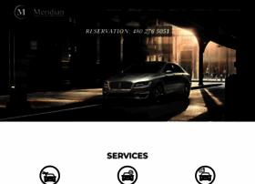 meridianexecutivelimo.com