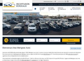 merignacauto.com