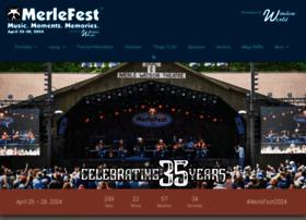 merlefest.org