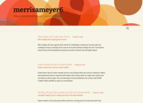 merrisameyer6.wordpress.com