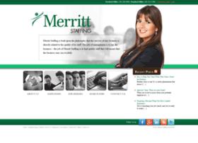 merrittstaffing.com