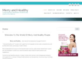 merryandhealthy.com