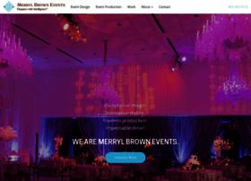 merrylbrownevents.com