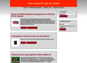 mes-codes.fr