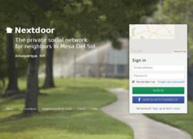 mesadelsolal.nextdoor.com
