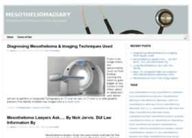 mesotheliomadiary.com