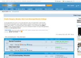 messageboards.makemeheal.com