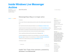 messengersays.spaces.live.com
