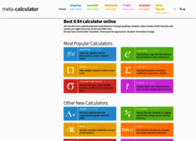meta-calculator.com