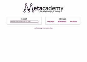 metacademy.org