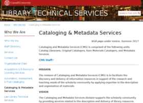 metadata.library.cornell.edu