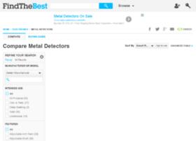 metal-detectors.findthebest.com