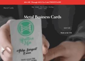 metalcards.com