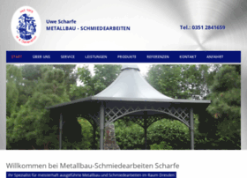 metallbau-scharfe.de
