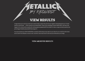 metallicabyrequest.com