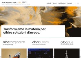 metalmeccanicaalba.eu