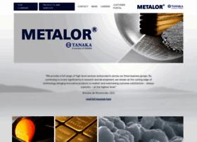 metalor.com