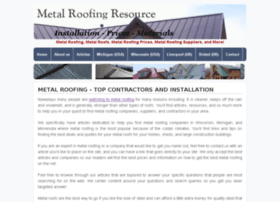 metalroofingresource.com